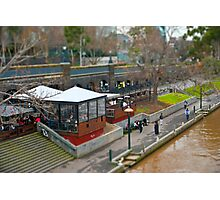Modelling Melbourne - By The River Photographic Print