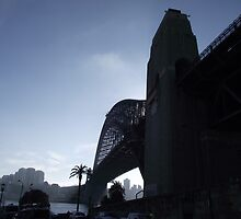 Same Old, same old, but different - Sydney Harbour Bridge by Gary Kelly