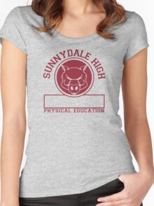 Sunnydale High PE Women's Fitted Scoop T-Shirt