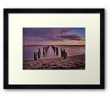 Bay of many colours Framed Print
