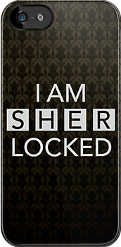 Sherlocked Wallpaper by Mark Walker