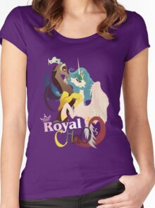 Royal Chaos Women's Fitted Scoop T-Shirt