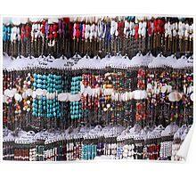A multitude of bracelets Poster