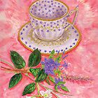 Tea with a floral bouquet by didielicious