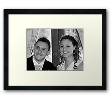 Petra and Shane Framed Print