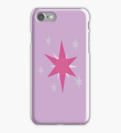 Twilight Sparkle Text Original iPhone Cover iPhone Case/Skin