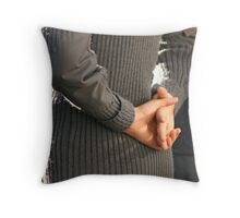 Stand Easy Throw Pillow
