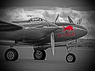Red Bull P-38 by Colin J Williams Photography