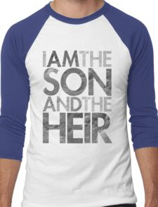 I Am The Son & The Heir Men's Baseball ¾ T-Shirt