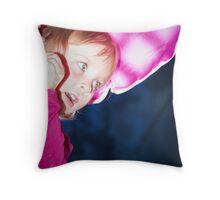 The Twirler Throw Pillow