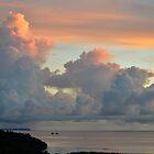 Palau Sunset by Randy Richards