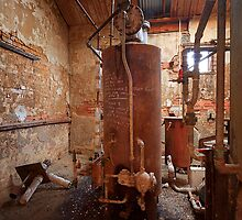 Boiler Room 1 - Old Geelong Tannery by Hans Kawitzki