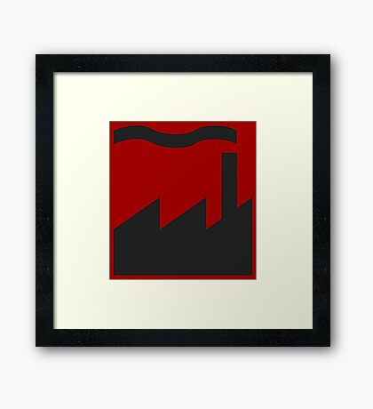 Factory Records Framed Print