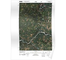 USGS Topo Map Washington State WA Cyclone Creek 20110428 TM Poster