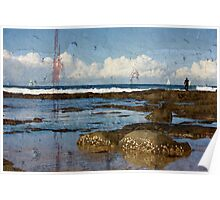 Tranquil Seascape Poster