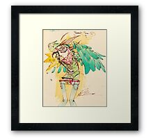 parrot time Framed Print