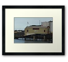 Lifeboat Station 1 Douglas Isle of Man Framed Print