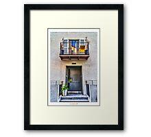 HDR Neve Tzedek House  Framed Print