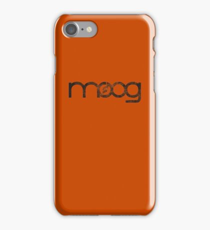 Moog (Vintage) iPhone Case/Skin