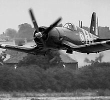 F4U-7 Corsair NX1337A lowdown and shifting by Colin Smedley