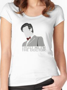 Trust Me,I'm The Doctor Women's Fitted Scoop T-Shirt