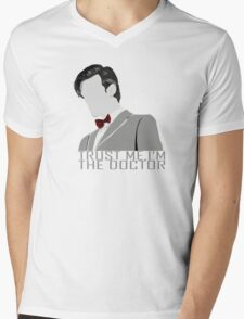 Trust Me,I'm The Doctor Mens V-Neck T-Shirt
