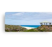 Gazebo Overlooking The Ocean  Canvas Print