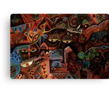 mesmereyes Canvas Print