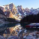 Moraine Lake by Tracy Friesen