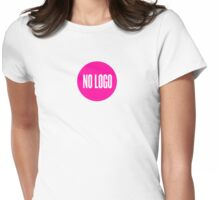 No logo Womens Fitted T-Shirt
