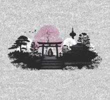 Sakura - Kyoto Japan One Piece - Long Sleeve