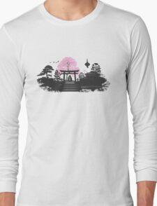 Sakura - Kyoto Japan Long Sleeve T-Shirt