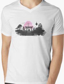 Sakura - Kyoto Japan Mens V-Neck T-Shirt