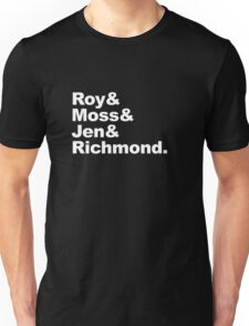 Roy Moss Jen Richmond Unisex T-Shirt