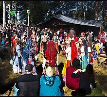 Abbey Medieval Festival 3 by John Van-Den-Broeke