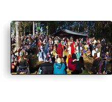 Abbey Medieval Festival 3 Canvas Print
