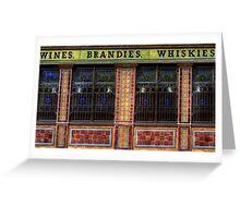 Crown Liquor Saloon - Wall Greeting Card