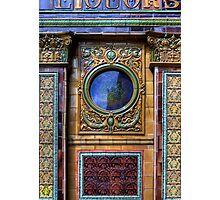 Crown Liquor Saloon - Window Photographic Print