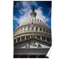 Capitol Skyline Poster