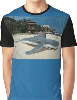 Beached Submarine Life @ Sculptures By The Sea Graphic T-Shirt