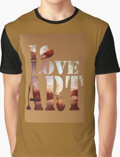heART of the river Graphic T-Shirt