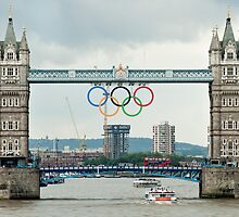 Tower Bridge 2012 by Peter Towle