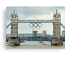 Tower Bridge 2012 Canvas Print