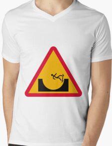 Skate or not 2  Mens V-Neck T-Shirt