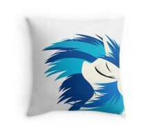 DJ-Pon3 / Vinyl Scratch - FaceEdition2 Throw Pillow