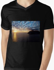 Hout Bay Sunset Mens V-Neck T-Shirt