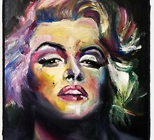 Marilyn Monroe by nicolegault22