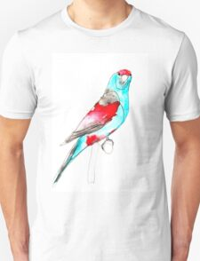 Birds in INK ~ Paradise Parrot T-Shirt