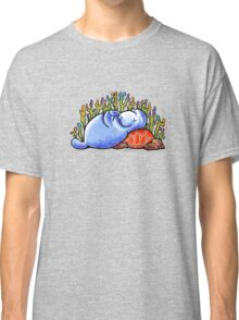 Sea Turtle and Manatee Classic T-Shirt