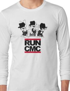 RUN CMC T-shirt (white) Long Sleeve T-Shirt
